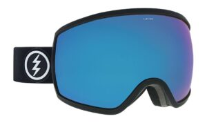 Electric EGG Matte Black / Brose Blue Chrome Goggles 2019