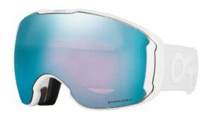 Oakley Airbrake XL Polished White Prizm Sapphire & Prizm HI Pink Goggles 2020