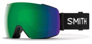 Smith I/O MAG Black/Sun Green Mirror Goggles 2020