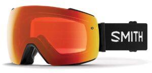 Smith I/O MAG Black/Sun Red Mirror Goggles 2020
