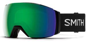Smith I/O MAG XL Black/Sun Green Mirror Goggles 2020