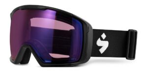 Sweet Protection Clockwork Max RIG Matte Black / RIG Amethyst Goggles 2020