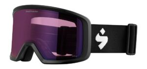 Sweet Protection Firewall RIG Matte Black / RIG Amethyst Goggles 2020
