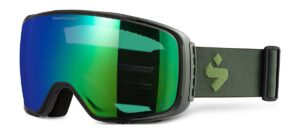 Sweet Protection Interstellar Matte Olive Drab / RIG Emerald Goggles 2020